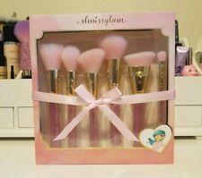 New * Slmissglam * MERMAID GLAM Makeup Brush Set * Pink Glitter