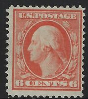 US Stamps - Scott # 336 - 6c Washington - Mint Hinged                    (A-472)