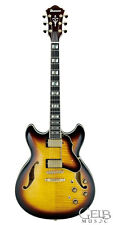 Ibanez Artstar AS153 Semi-Hollow Electric Guitar Antique in Sunburst - AS153AYS