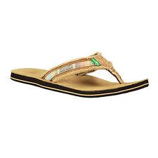 Sanuk Fraid So Flip Flops RRP £34.99