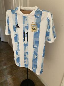 Argentina Di Maria Copa 2021 Jersey US Adult Large