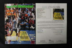 MICHAEL JORDAN SIGNED SPORTS ILLUSTRATED JULY 23 1984 USA OLYMPIC JSA JB178