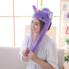 Movable Ear Horse Hat Controllable Cute Plush Earflap Cap Gift