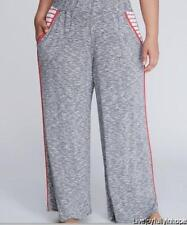 LANE BRYANT ~ NWT New! Plus 14 16 ~ Marled Wide-Leg Sleep Pajama PJ Pants 1X