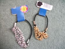 2 packs Chainlink Ponytailers,Ponytail hair accessories,hair fashion #13
