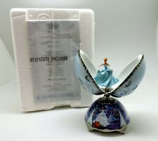 Cinderella Disney Porcelain Musical Egg First Issue Certificate of Authenticity