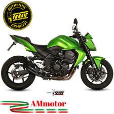 Mivv Kawasaki Z 750 07 - 2014 Terminale Scarico Moto Marmitta Double Gun Black