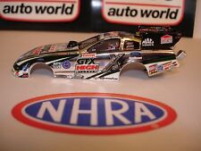 Auto World NHRA~John Force ~ Castrol Ford Mustang Funny Car Body ~ Fits AFX, AW
