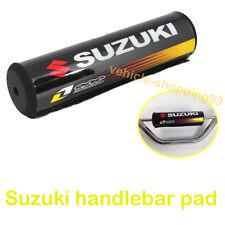 Suzuki Handlebar Pad Black Motorcycle Crossbar Motocross Dirt Bike ATV Bar Grip