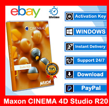 Maxon CINEMA 4D Studio R20 ™ 🔥 Lifetime Activation 🔥 24H delivery 🔥 Lifetime
