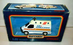 Matchbox Super Kings K169 Ford Transit Ambulance NMIB