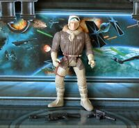 STAR WARS FIGURE 1995 POTF COLLECTION HAN SOLO HOTH