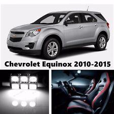 14pcs LED Xenon White Light Interior Package Kit for Chevrolet Equinox 2010-2015