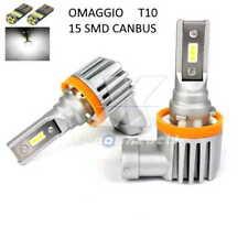 Kit LED H8 CANBUS 10000LM 6000K 2x Lampadine OMOLOGATE SLUX + T10 OMAGGIO