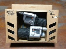 Microshift Digital Drive System 8 Speed Grip Shifters. Shimano Compatible. NOS