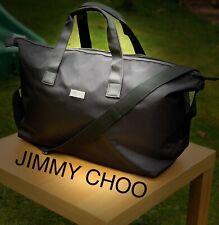 JIMMY CHOO DESIGNER MENS Large BLACK Weekend GYM BAG New FREE DELIVERY