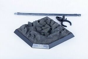 Hottoys 1/6 MMS225 Thor 3.0 Rocky Ground Diorama Base Figure Custom Collectible