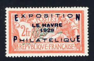 1929 France. SC#246. Mint, Lightly Hinged, VF