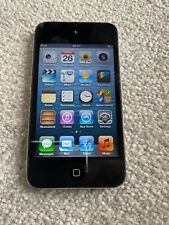 Apple iPod touch 4th Generation 32GB - Black Used Works Fine