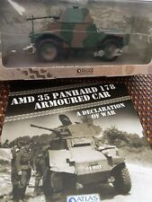 ATLAS EDITIONS AMD 35 PANHARD 178 ARMOURED CAR - BRAND NEW + BOOKLET