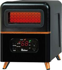 Dr. Heater DR-978 Infrared Portable Space Heater, Hybrid, Black