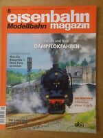 eisenbahn Modellbahn magazin Nr.8 August 2013