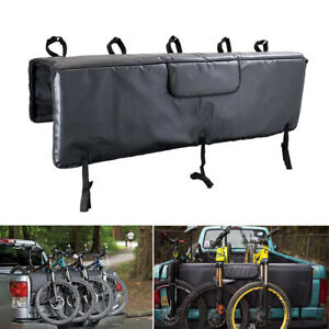 Tailgate Pad for Mountain MTB 5 Bikes Pick-up pad Rack Carrier with Secure Strap