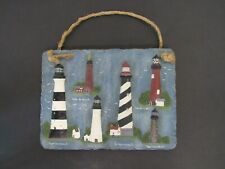 New ListingFlorida Lighthouses Wall Hanging Décor Key West, Cape Canaveral, St. Augustine