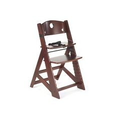 NEW! Keekaroo Height Right Kids Chair - Mahogany Color