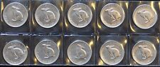 CANADIAN 1867 - 1967 COMMEMORATIVE FIVE CENT - NICKEL - LOT OF 10 - NCC