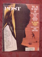 Saturday Evening POST January 27 1968 THE DRAFT JEREMY VERNON ++