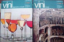 1971 ENOLOGIA DUE VOLUMI SUI VINI BIANCHI, ROSSI E ROSATI ILLUSTRATISSIMI