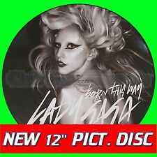 "LADY GAGA - BORN THIS WAY The Remixes+Original / PICTURE DISC / 12"" Vinyl / NEW"
