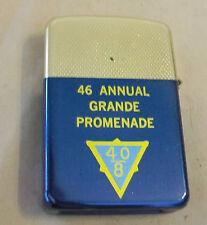 VINTAGE 1960's AMERICAN LEGION 40 & 8 46TH ANNUAL GRANDE PROMENADE LIGHTER