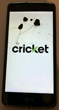 LG Escape K373 16GB Black (Cricket) Smartphone Fast Ship Parts Repair
