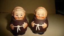 #912 Vtg Goebel Friar Monk Salt & Pepper Shakers