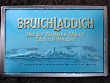 BRUICHLADDICH , BLECHSCHILD SCOTCH WHISKY ISLAY