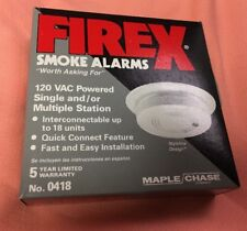 FIREX SMOKE detector 0418 ,exchangeable with 0420 ,G120 ,PG,0406,0418,0420,0484