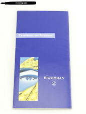 "Waterman Postcards Catalog from 1999 ""Tradition und Moderne"""