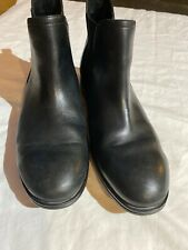 ROCKPORT Walkability Men's Black Leather Chelsea Adiprene Boots Mens Sz 9.5 Euc