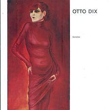 Otto Dix, Gemälde, Katalog Kunstverein Hochrhein Trompeterschloß Säckingen 1971