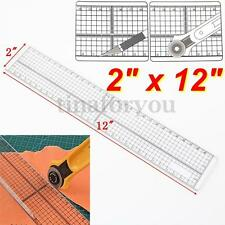 30cm DIY Sewing Patchwork Foot Aligned Ruler Quilting Grid Cutting Tailor Craft