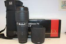 Sigma EX HSM Apo IF 100-300 mm f/4.0 Objektiv für Sony