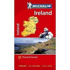 MINI-Mappa Irlanda (mappe Tasca MICHELIN), Michelin, NUOVO LIBRO mon0000063621