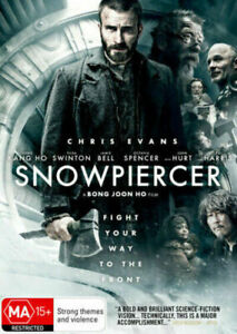 Snowpiercer DVD Snow Piercer 2013 Action Sci-Fi Movie - Chris Evans - REGION 4