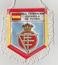 Orig.Wimpel   FUSSBALL VERBAND SPANIEN / ESPANA  -  80ziger Jahre  !!  SELTEN