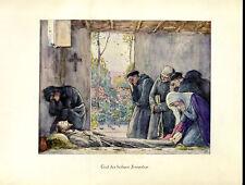 Francisco -- muerte de San Francisco-coloriert-de 1931