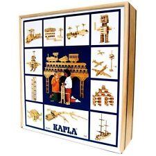Kapla Steine 100 Stück in Holzkiste, mit Anleitung
