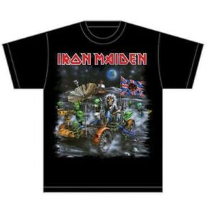 ** Iron Maiden Knebworth Moon Buggy T-shirt Official **