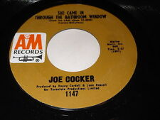 Joe Cocker: She Came In Through The Bathroom Window / Change In Louise 45